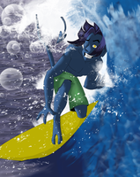 XME - Surfing Kurt by Ajir