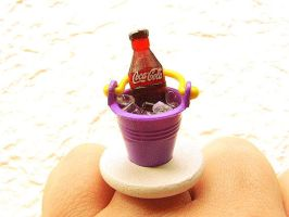 Coca-Cola Ring by souzoucreations