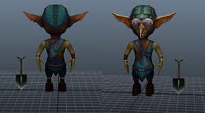 Low poly gnome by Cllaud