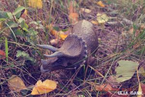 Triceratops ( Papo) by UliaDark