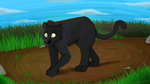 Panther by CartoonFriendly