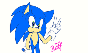 Simple Sonic by legandarydeviant