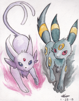 Eeveelution by Trexia