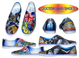 Doctor Who Shoes by kpossibles