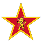 Emblem of the People's army (simplified) by davides2001