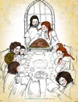 A Stark Thanksgiving by sketchditto