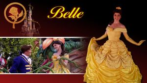 Disney Revisited 001 - Belle by bellesprince