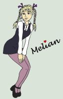 Melian Pose Purple Stockings with Name by MelianMarionette