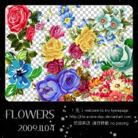FLOWERS03_8P by its-a-nice-day