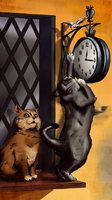 Cats and Clocks by Craig-R