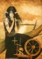 Spinning Wheel by chicourano