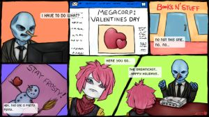 Will you be my secret? Valentines day challenge by Apples-Malus