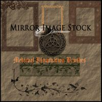 Medieval Illumination Brushes by mirrorimagestock