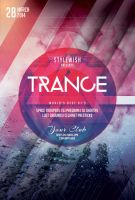 Trance Party Flyer by styleWish