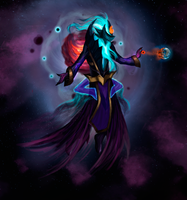 Dark Star Zilean by SlownDamn