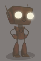 Little Robot by zac900