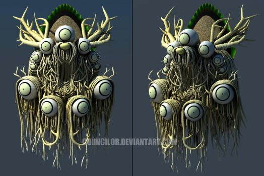 Glitches of Ur - Spriggan by Councilor