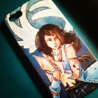 Angel Wing - Rinoa iPhone case by jsheaisaninja