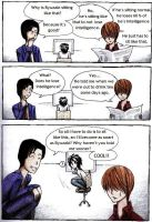 Death Note comic 2 by Mitsuukii