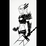 Daily Sketches 082: Magik by AndrewKwan