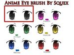 Anime eye Brush by Squex