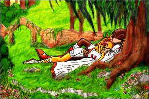 Spence and Lunara .:Paradise:. by TheMonica180