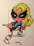 MOCKINGBIRD sketchcard commission by thecheckeredman