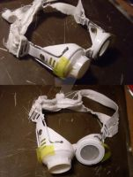white post apocalyptic/sci fi goggles 2 by Peculiar-Productions