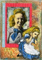 Alice's Mother ATC by LauraTringaliHolmes
