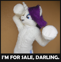 LAST DAY TO BID on Rarity Cosplay Costume! by sophiecabra