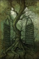 The Neverland library tree by CopperAge