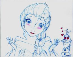 No Valentine for Elsa by Anime-Ray