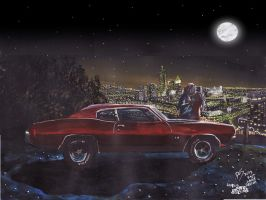 The Life Story Of A 1970 Chevy Chevelle (Part 4) by FastLaneIllustration
