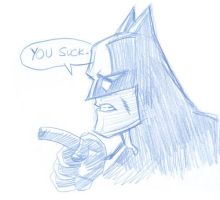 Batman Sez marchsketchdump by thejeremydale