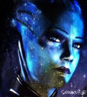 Liara by SabryN7
