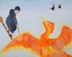 James Potter and the phoenix by mene