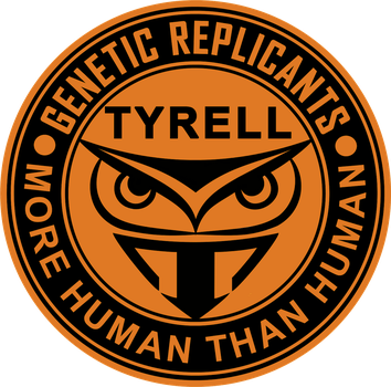 Blade Runner Tyrell Corporation Logo by viperaviator