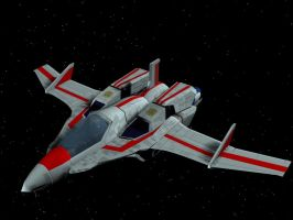 VF-7X Sylphide Fighter Mode by X1Commander