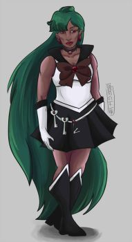 Sailor Pluto Thing by your-undead