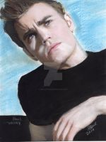 Paul Wesley Vampire Diaries by sketchychick