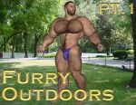[B3] Dudley Cover [Gym Pt1] [Furry] by Bodybeef