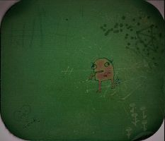 monster mousepad by chunghwa