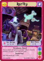 Rarity - MLP Minis Profile Card by MLPMinis