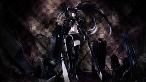 Wallpaper ~ Insine Black Rock Shooter. by Mackaged