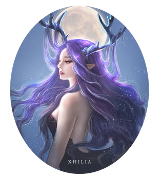 Deer Elf by Xhilia7
