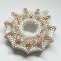 Beaded pastel donut by Sol89