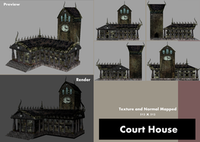 Texture - Court House by BlueSerenity
