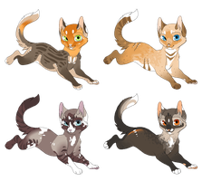Adoptables Batch - AUCTION: Closed - by SpottedAdopts