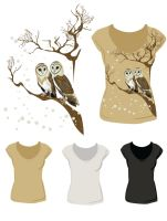 Barn Owls by itchy26