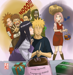 over100K:Happy Birthday Naruto by sharingandevil